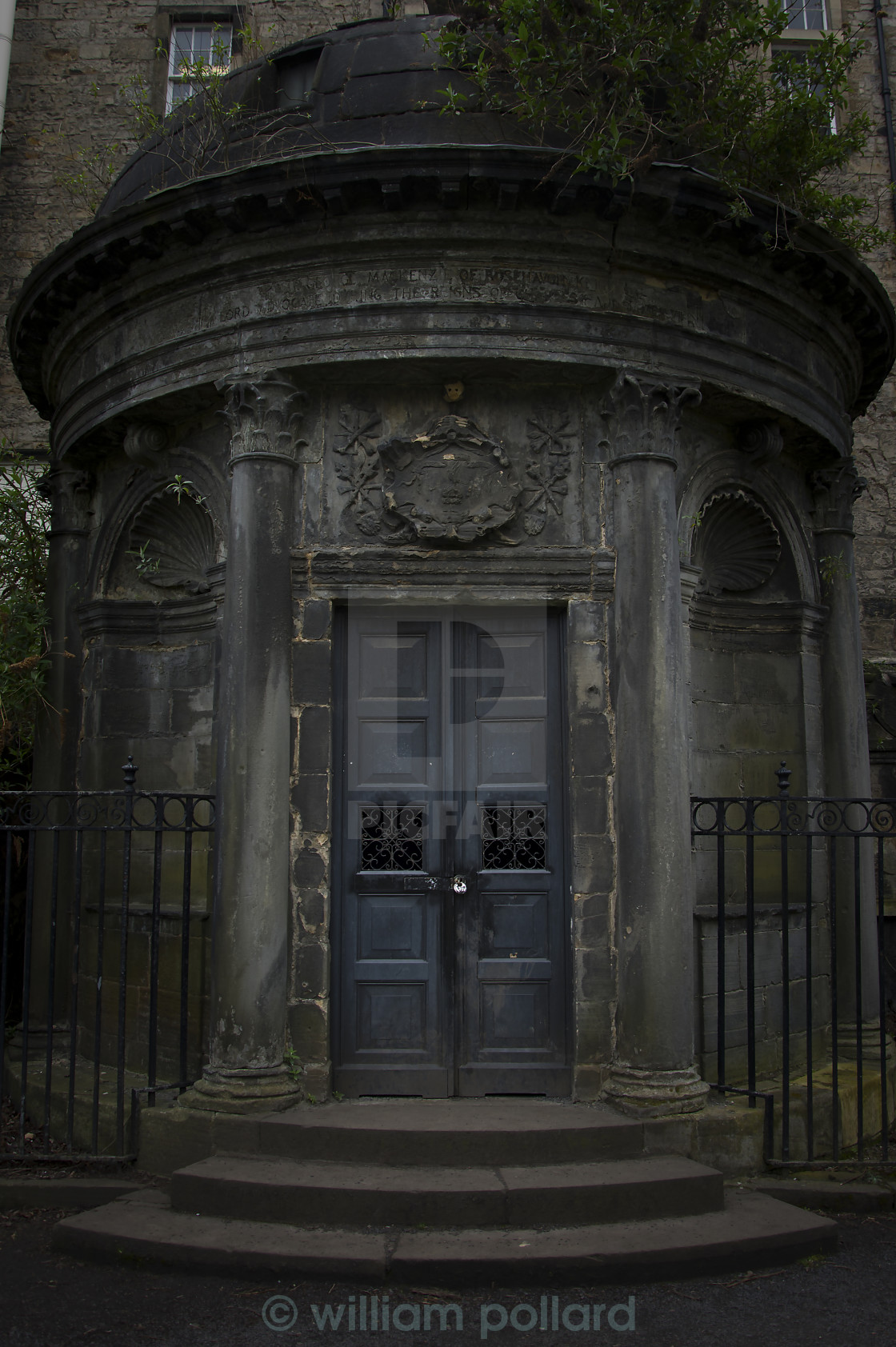 """The Black Mausoleum"" stock image"